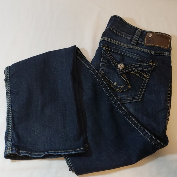 Silver Jeans Denim - SILVER JEANS MCKENZIE STRAIGHT LEGS EUC